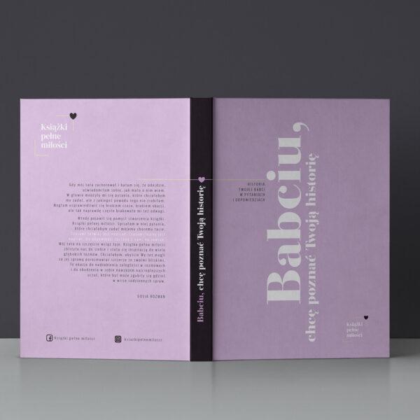Okładka książki - przednia i tylna
