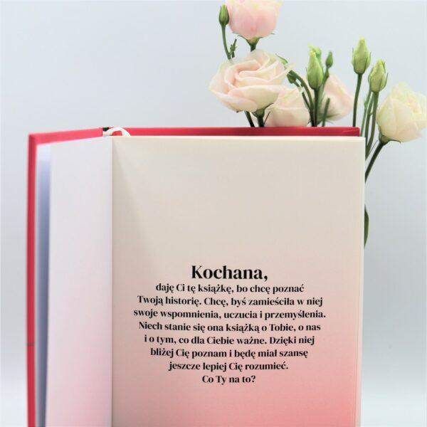 Kochana, daję ci tę ksiażkę - pierwsza strona książki